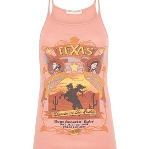 Spell and the Gypsy ribbed Texas singlet